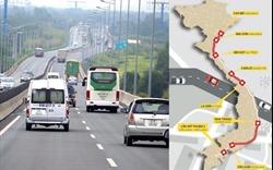 """11 dự án cao tốc Bắc - Nam có """"điểm ra"""" qua các tỉnh, thành phố nào?"""