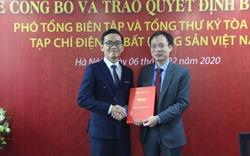 Bổ nhiệm Tổng Thư ký tòa soạn Tạp chí điện tử Bất động sản Việt Nam