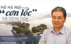 """Hồ Hà Nội trước """"cơn lốc"""" bê tông hóa"""