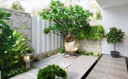 Ấn tượng ngôi nhà đẹp như resort, tràn ngập sắc xanh ở Phú Thọ