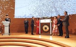 Chủ tịch FLC tham gia đánh cồng mở màn phiên giao dịch ở Singapore