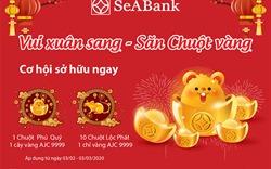 """Dùng ngân hàng điện tử SeABank """"vui xuân sang, săn chuột vàng"""""""