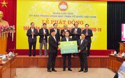 Vietcombank ủng hộ 10 tỷ đồng, chung tay phòng, chống dịch Covid-19