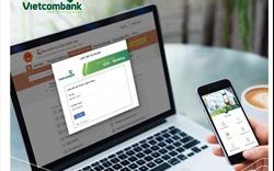 Vietcombank cung cấp giải pháp thanh toán trực tuyến trên Cổng DVCQG