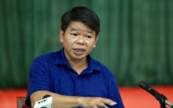 """Ông Nguyễn Văn Tốn - Tổng Giám đốc Công ty Nước sạch Sông Đà: """"Vâng! Xin lỗi!"""""""
