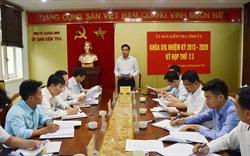 Quảng Ninh: Xử lý cán bộ vi phạm trong công tác giải phóng mặt bằng