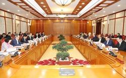 Bộ Chính trị cho ý kiến hoàn thiện dự thảo Văn kiện Đại hội Đảng XIII