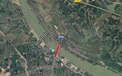 Đầu tư 332 tỷ đồng xây cầu qua sông Lô nối Vĩnh Phúc và Phú Thọ
