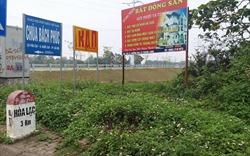 Huyện Thạch Thất: Nghiêm cấm tụ tập mua bán đất tại xã Đồng Trúc