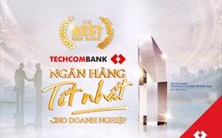 Techcombank được vinh danh là Ngân hàng cung cấp giải pháp tốt nhất cho DNVVN