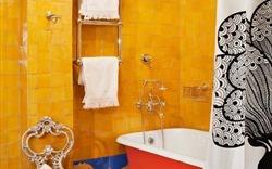 14 mẫu thiết kế cho nhà tắm nhỏ, mang phong cách Boho