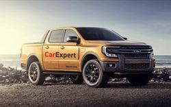 Ford Ranger 2022 thiết kế mới