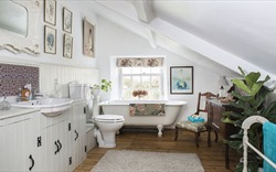 """Hô biến phòng tắm thành spa thư giãn nhờ những mẫu thiết kế """"độc - lạ"""""""