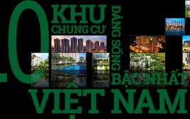 Top 10 khu chung cư đáng sống bậc nhất Việt Nam 2017