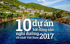 Top 10 dự án bất động sản nghỉ dưỡng tốt nhất Việt Nam 2017