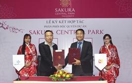 Nhất Nam Land ký kết phân phối độc quyền dự án Sakura Central Park