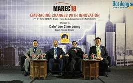 Lãnh đạo VNREA tham dự Hội nghị Bất động sản Malaysia 2018