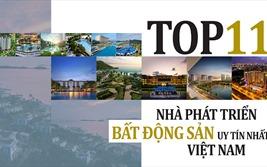 Top 11 nhà phát triển Bất động sản uy tín nhất Việt Nam