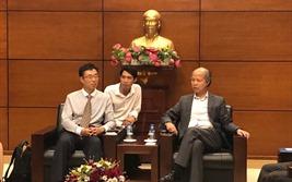 Chủ tịch VNREA tiếp đoàn đại biểu Hiệp hội Bất động sản Trung Quốc