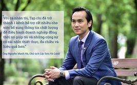 """Chủ tịch Lộc Sơn Hà Land: """"Reatimes là người bạn đồng hành của doanh nghiệp"""""""