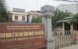 Thái Nguyên: Nhà đầu tư Hàn Quốc khốn khổ vì bị BQL các KCN chây ì 30 tỷ đồng