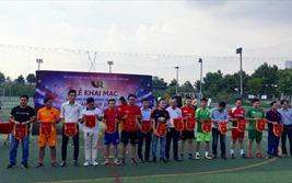 16 đội tham dự giải bóng đá các doanh nghiệp bất động sản-VARS CUP 2018 khu vực miền nam