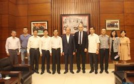Chủ tịch Hiệp hội Bất động sản Việt Nam gặp mặt đại diện Ngân hàng thế giới