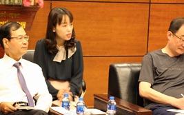 Lãnh đạo Hiệp hội Bất động sản Việt Nam tiếp đoàn khách Hàn Quốc