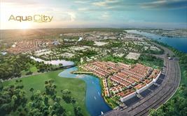 Phân khu cửa ngõ River Park 1 tại Aqua City đón dòng vốn lớn từ nhà đầu tư đất Bắc
