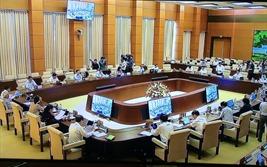 UBTVQH xem xét một số cơ chế, chính sách đặc thù với TP Hà Nội