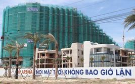 Thanh tra Chính phủ đang thanh tra dự án The Arena Cam Ranh nên chưa cấp giấy phép xây dựng
