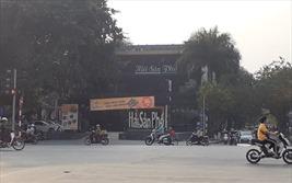 """Hà Nội ra """"tối hậu thư"""" xử lý vi phạm tại mương Phan Kế Bính, Nghĩa Đô"""