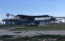 """Toàn cảnh công trình """"khủng"""" tranh cãi xây dựng không phép của """"siêu"""" dự án The Arena Cam Ranh"""