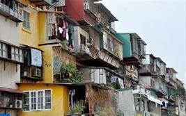 Triển khai thiết kế ý tưởng quy hoạch các khu chung cư cũ