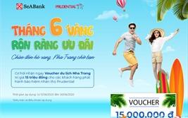 SeABank tặng voucher du lịch trị giá 15 triệu đồng cho khách hàng mua bảo hiểm