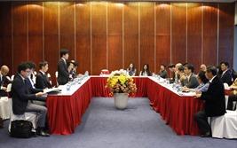 Lãnh đạo Hiệp hội Bất động sản Việt Nam tiếp đoàn khách Nhật Bản