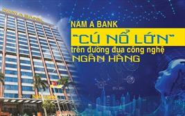"""Nam A Bank - """"cú nổ lớn"""" trên đường đua công nghệ ngân hàng"""