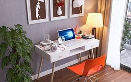 Tránh dịch Covid-19: Sáng tạo không gian làm việc, thư giãn tại nhà