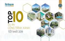 Top 10 dự án công trình xanh tốt nhất 2019