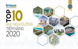 Top 10 dự án nghỉ dưỡng tiềm năng 2020