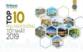 Top 10 Khu nghỉ dưỡng tốt nhất 2019
