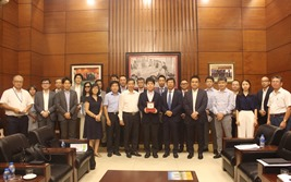 Lãnh đạo Hiệp hội Bất động sản Việt Nam tiếp đoàn các doanh nghiệp Nhật Bản