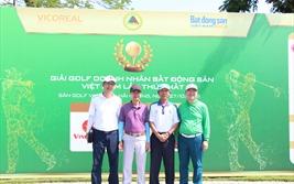 Khai mạc Giải Golf Doanh nhân Bất động sản Việt Nam: 200 golf thủ đang so tài