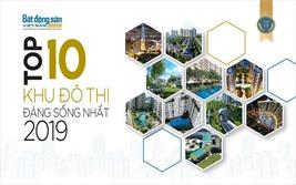 Top 10 khu đô thị đáng sống nhất 2019
