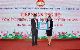Tập đoàn CEO ủng hộ 2 tỷ đồng cùng TP. Hà Nội chống dịch Covid-19