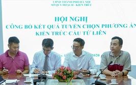Hà Nội công bố phương án kiến trúc cầu Tứ Liên