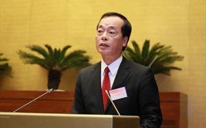 Quốc hội chất vấn Bộ trưởng Bộ Xây dựng Phạm Hồng Hà