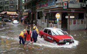 """Cách giải quyết nghịch lý """"mưa ngập đường vẫn thiếu nước"""" của Hong Kong"""
