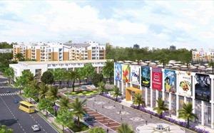 LDG Group ra mắt khu trung tâm thương mại Viva Square
