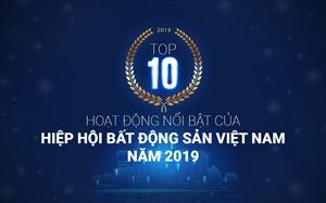 Top 10 activities of the Vietnam National Real Estate Association in 2019
